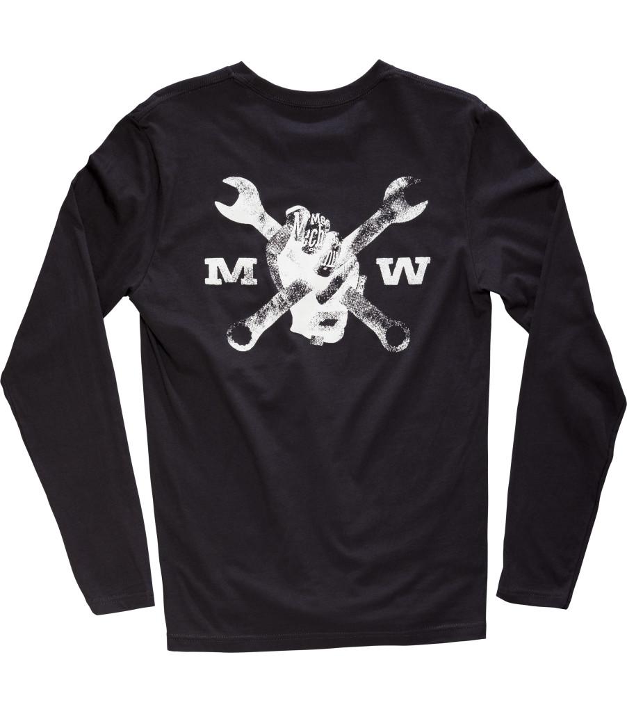 Race Division Long Sleeve Shirt, Black, large image number 1
