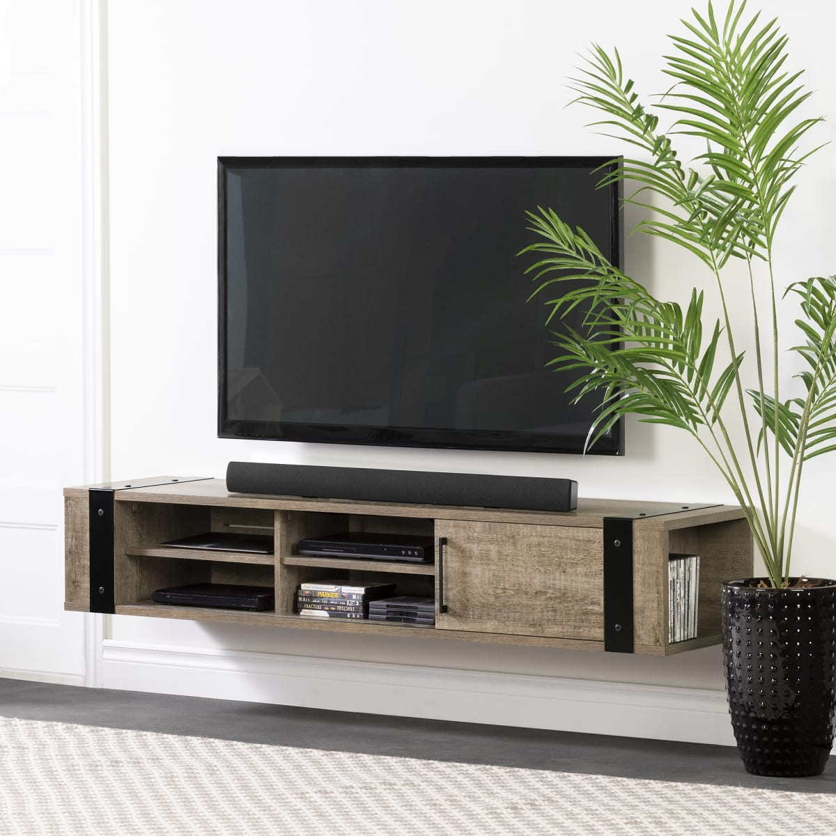 Munich Wall Mounted Media Console Tv Stand Living Room Furniture Products South Shore Furniture Ca Furniture For Sale Designed And Manufactured In North America
