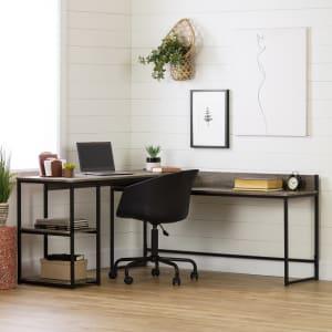 Evane - L-Shaped Desk