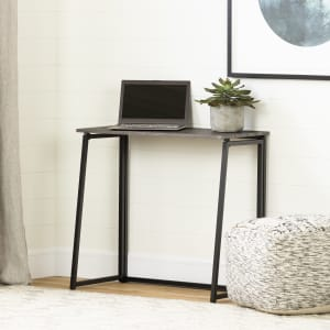 Evane - Industrial Folding Computer Desk