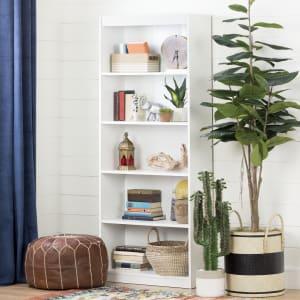 Axess - 5-Shelf Bookcase