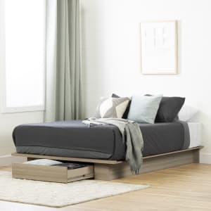 Kanagane - 1-Drawer Platform Bed