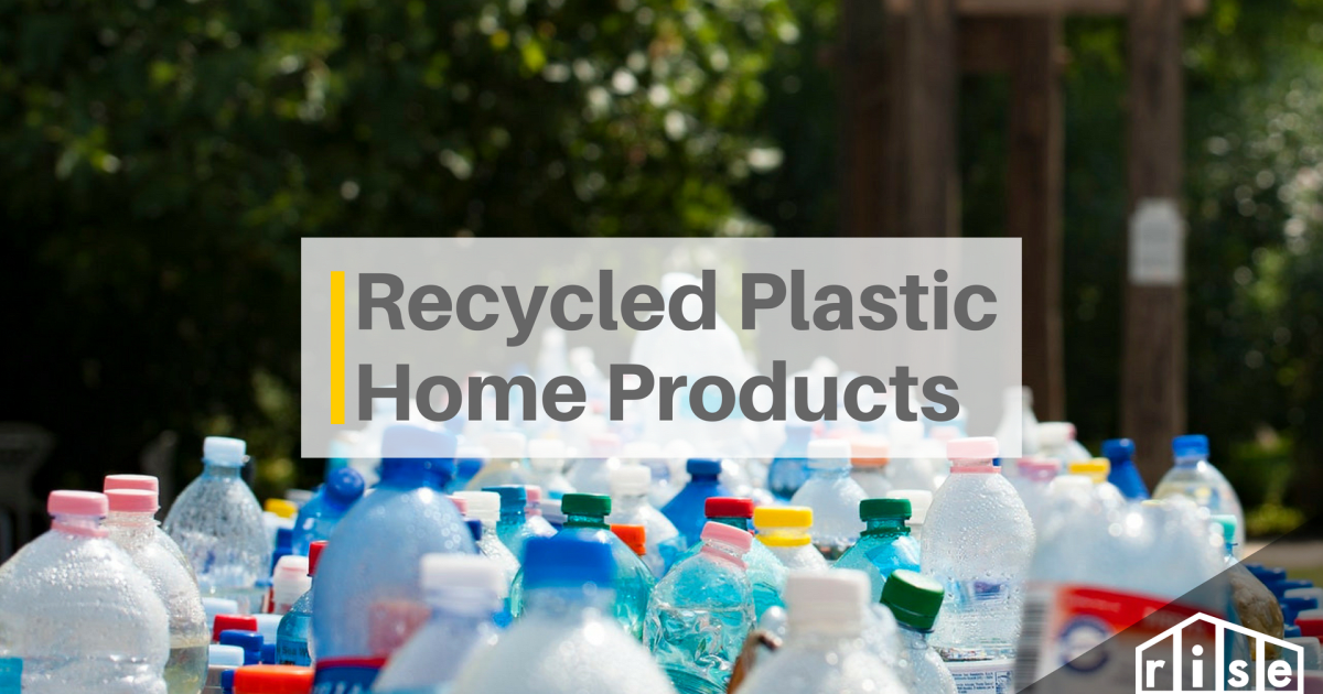 Five Interesting Ways To Incorporate Recycled Plastic Products Into Your  Home