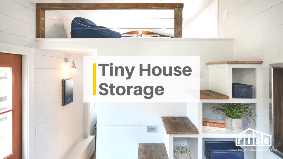 Creative Storage Space Ideas For Tiny House Living