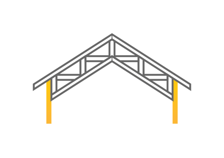 Rise Parallel Chord Roof Truss