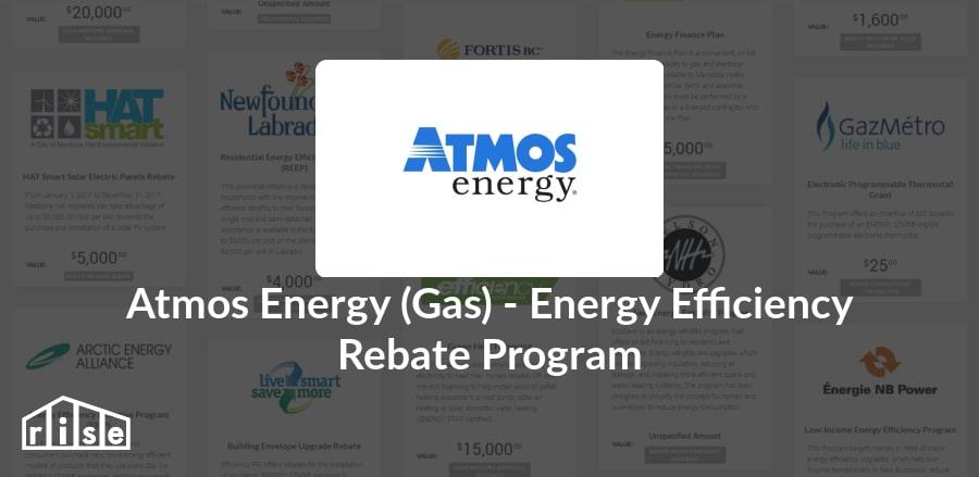 rise | rebate - atmos energy - atmos energy (gas) - energy