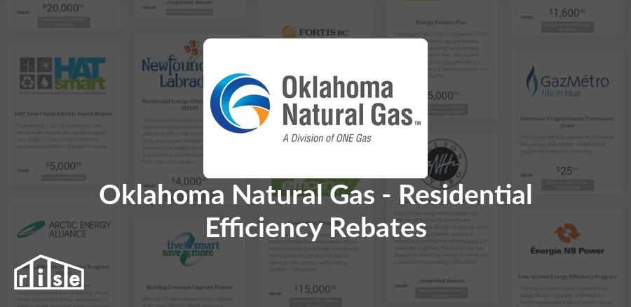 rise | rebate - oklahoma natural gas - oklahoma natural gas