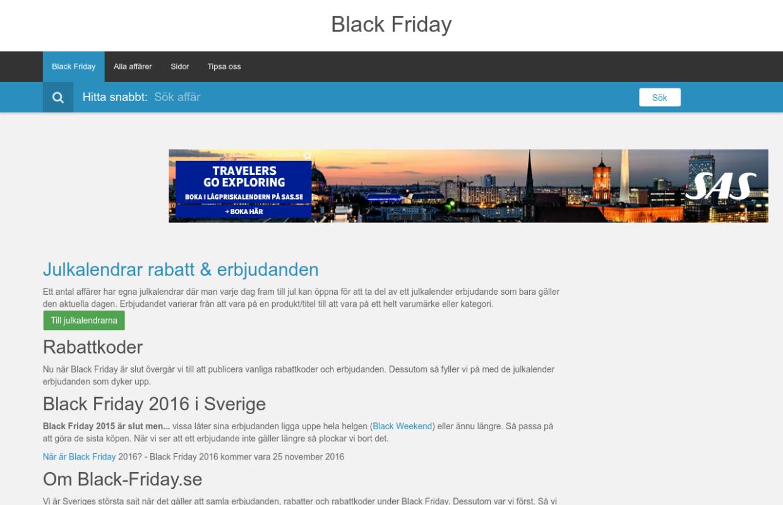 http://black-friday.se
