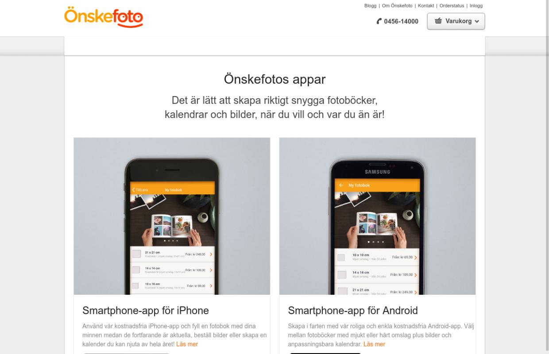 http://www.onskefoto.se/apps