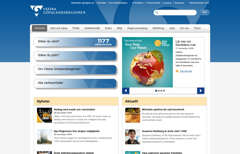 http://www.vgregion.se/sv/Vastra-Gotalandsregionen/startsida/