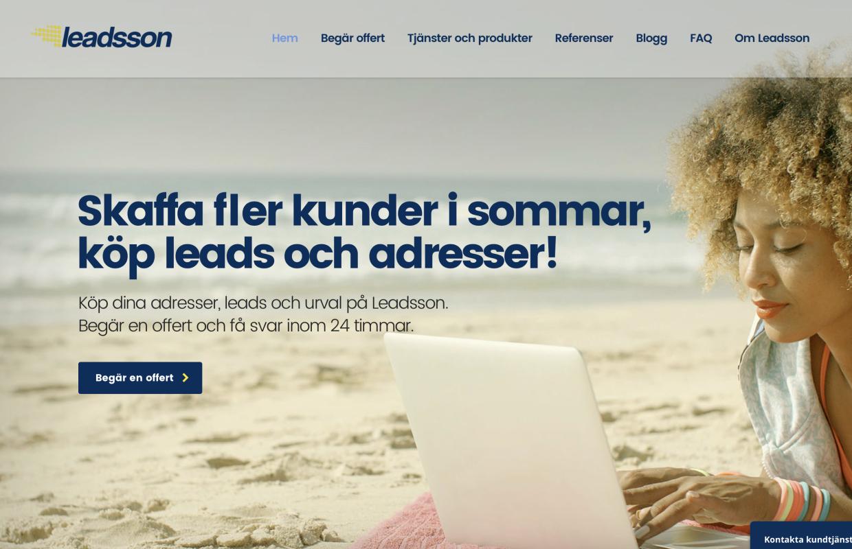 Leadsson.se inleder samarbete med Luxor Finans