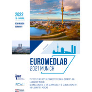 EuroMedLab 2021: 24th IFCC-EFLM European Congress of Clinical Chemistry and Laboratory Medicine