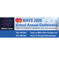 British Heart Valve Society (BHVS) Annual Conference 2020