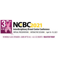 第30届跨学科乳腺中心年会2021 - NCoBC