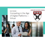 Competing In The Age Of Digital Platforms