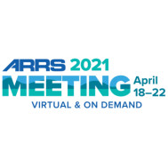 ARRS 2021 Annual Meeting - American Roentgen Ray Society