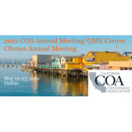 COA 2021 - California Orthopaedic Association Annual Meeting