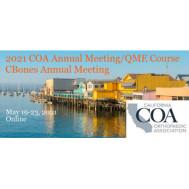 COA 2021 - California Orthopaedic Association Annual Meeting
