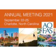 AOFAS Annual Meeting 2021