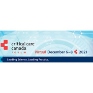 Critical Care Canada Forum 2021