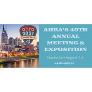 AHRA 49th Annual Meeting 2021