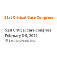 51st Critical Care Congress