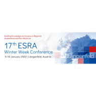 17th ESRA Winter Week Conference
