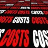 """The word """"Cost"""" repeated"""