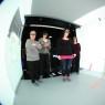 Nurses evaluate the bathroom design in a virtual environment