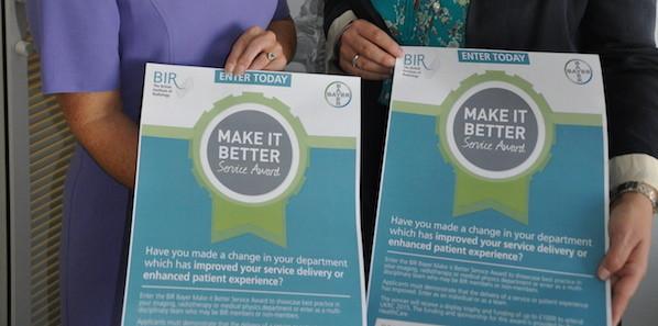BIR/Bayer Announces Service Award