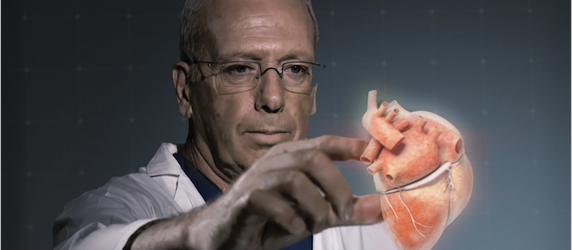 Pilot Study On 3D Holographic Imaging in Cardiology