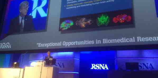 RSNA 2014: NIH Director: Imaging Research Offers Great Opportunities