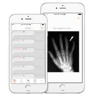 New app for sharing imaging files