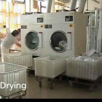 Laundry room in hospital