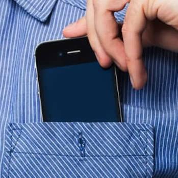 Smartphone in pocket