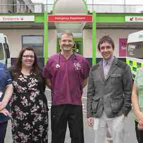 Medical staff in Plymouth