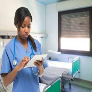 Migrant healthcare worker