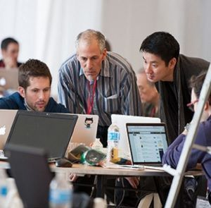 NewYork-Presbyterian hackathon participants