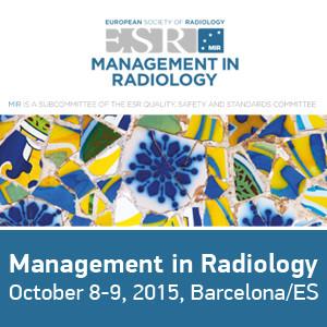 Management in Radiology 2015 logo