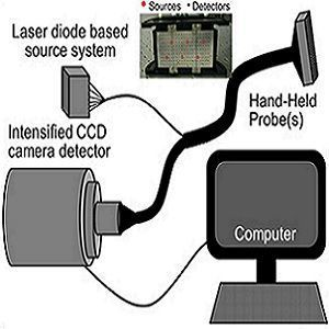 schematic of the handheld optical imaging system