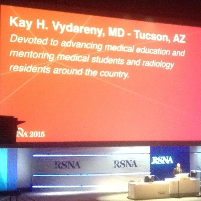 2015 RSNA Outstanding Educator and Researcher Awards