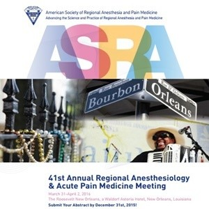 Regional Anesthesiology and Acute Pain Medicine Meeting 2016