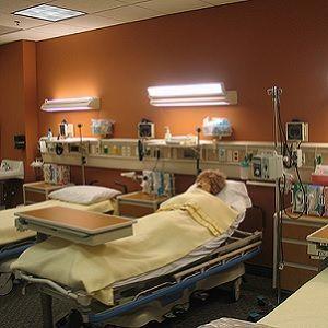 a hospital's acute care area