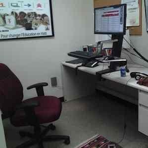 Ergotron Sit-to-stand workstation