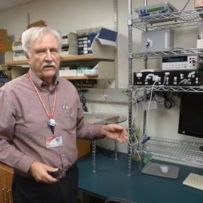 Larry DeWerd, a professor of medical physics at UW-Madison, directs the University of Wisconsin Radiation Calibration Laboratory, which tests and calibrates radiation-measurement devices from around the nation and beyond.