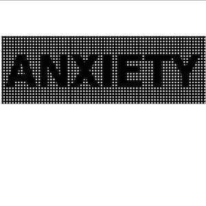The word Anxiety