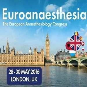 Euroanaesthesia 2016 congress logo
