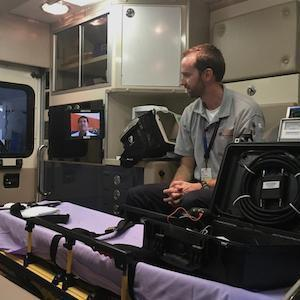 Tablets Enable Pre-Hospital Neurologist Assessment of Stroke Patients in Transit