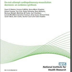 Report on do not attempt cardiopulmonary resuscitation decisions - cover image