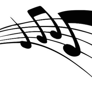 music notes, credit pixabay